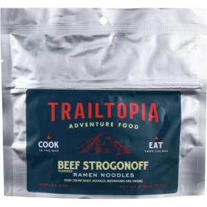 Trailtopia Beef Stroganoff Ramen Noodles