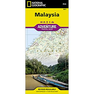 National Geographic Malaysia Adventure Map