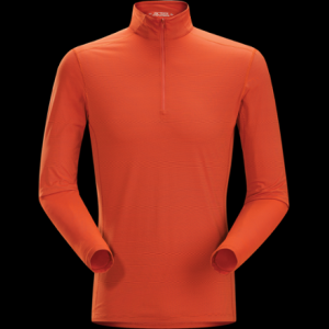 photo: Arc'teryx Phase SL LS Zip Neck long sleeve performance top