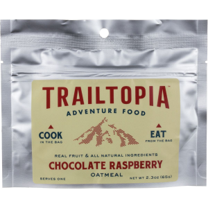 Trailtopia Chocolate Raspberry Oatmeal