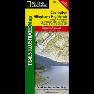 National Geographic Covington/Alleghany HighlandsMap