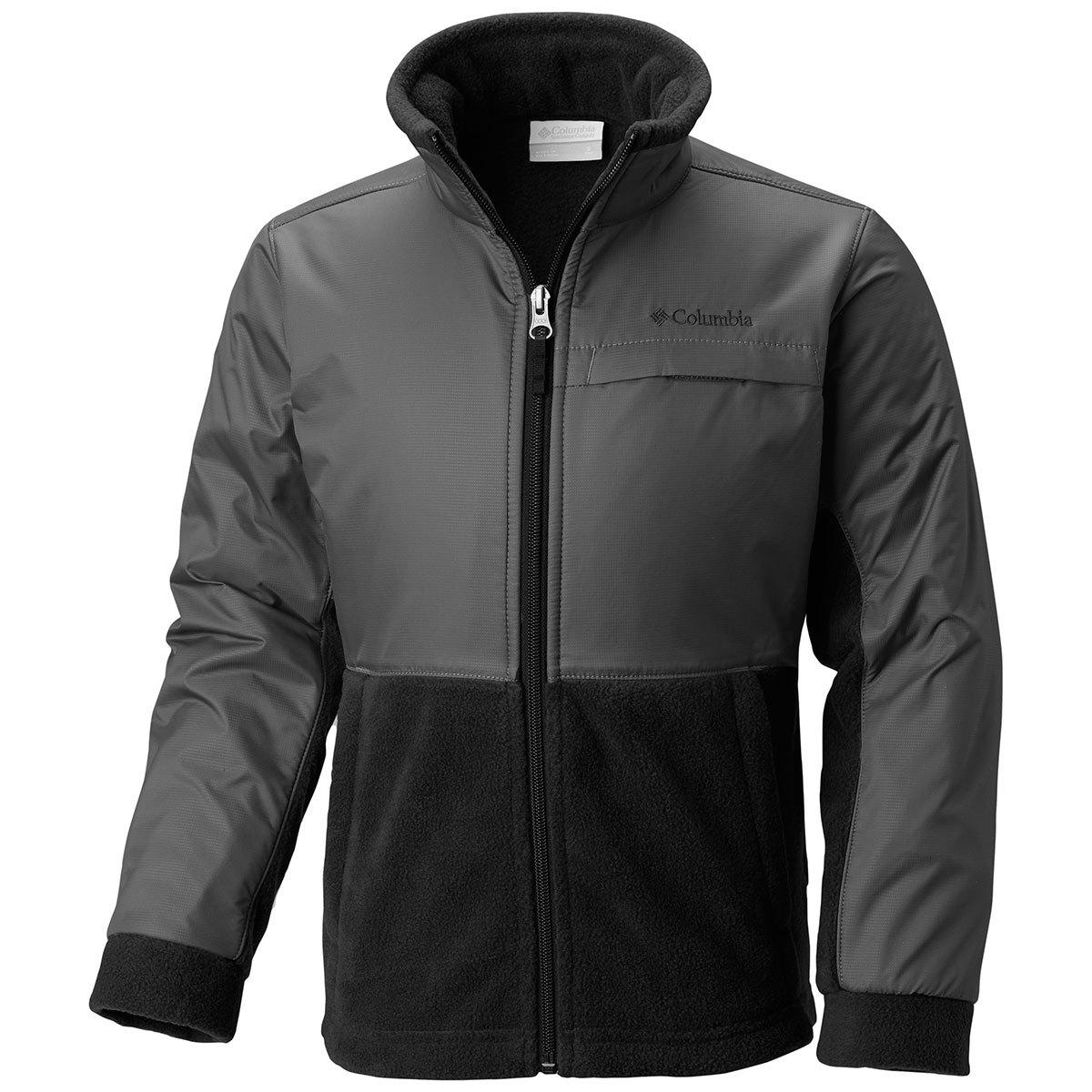 photo: Columbia Boys' Ballistic Fleece fleece jacket