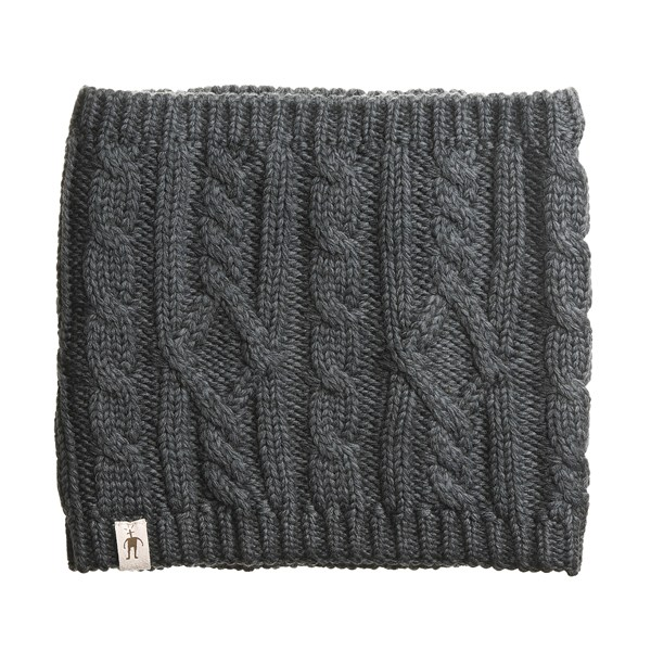 Smartwool Cable-Knit Neck Gaiter