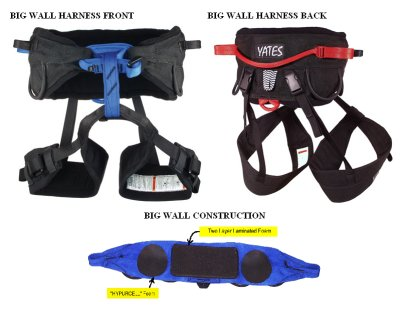 photo: Yates Big Wall Harness sit harness