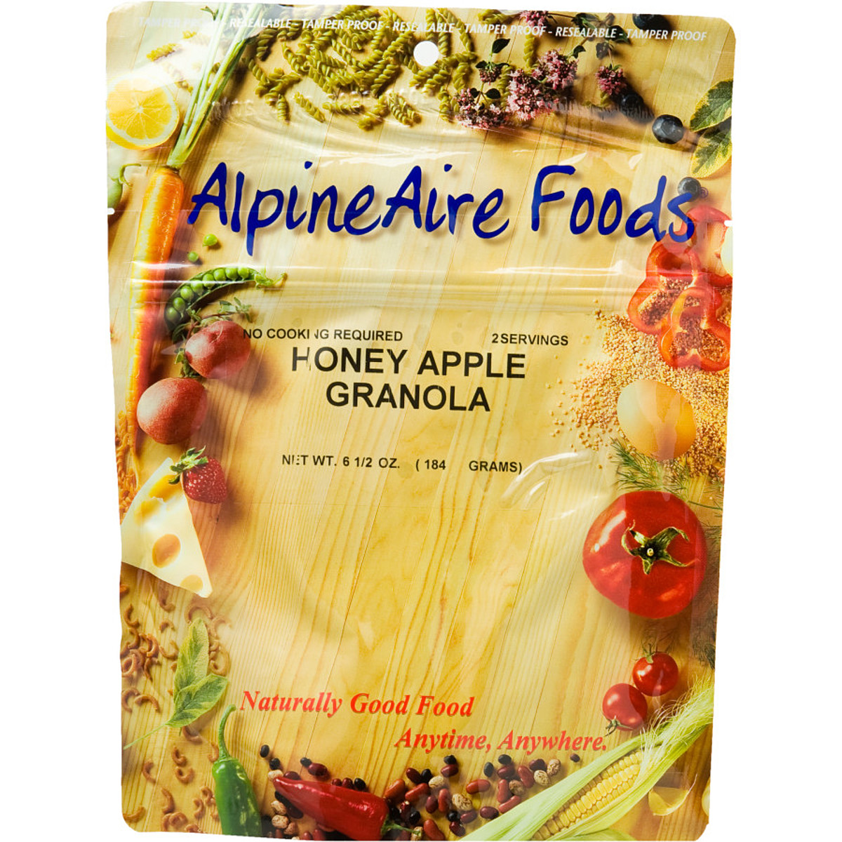 photo: AlpineAire Foods Honey Apple Granola breakfast