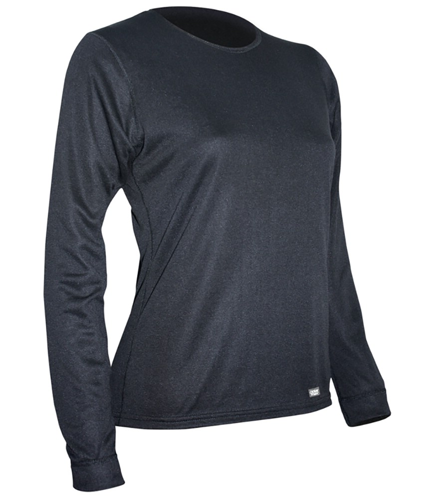 photo: Polarmax Women's Double Base Layer Crew base layer top