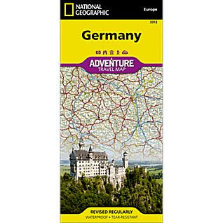 National Geographic Germany Adventure Map