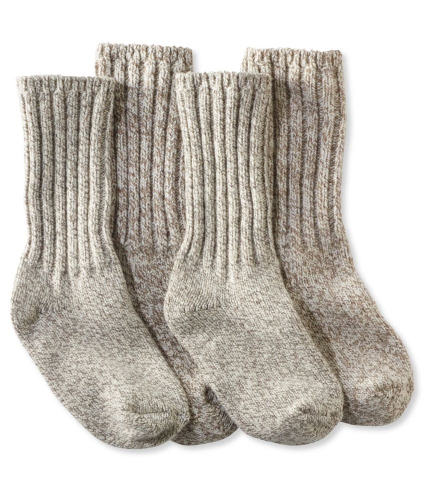 L.L.Bean Merino Wool Ragg Socks, 10""