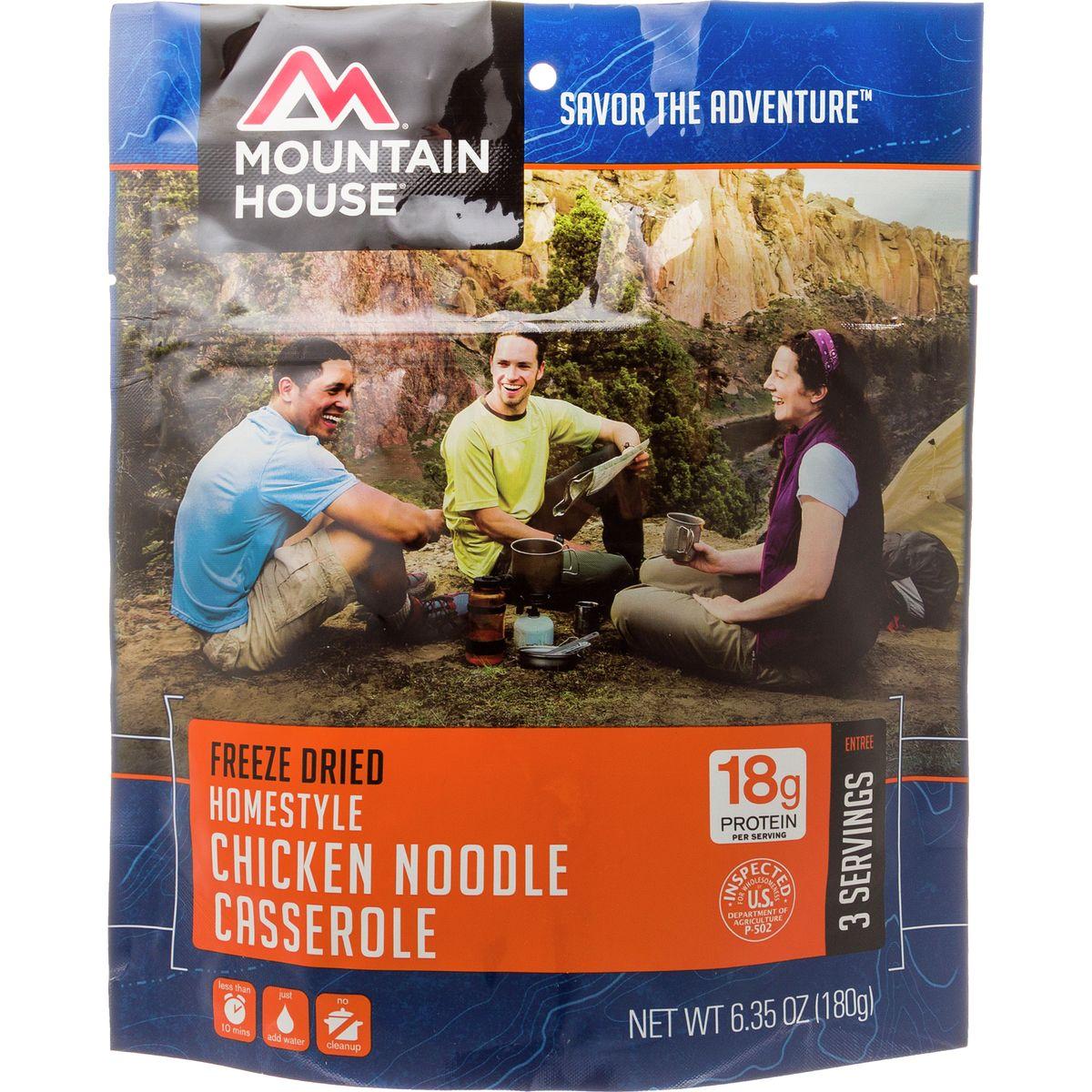 photo: Mountain House Homestyle Chicken Noodle Casserole meat entrée