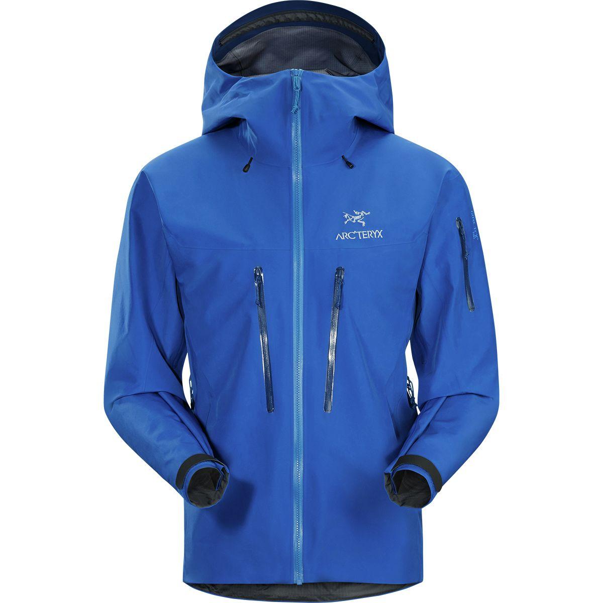 photo: Arc'teryx Men's Alpha SV Jacket waterproof jacket