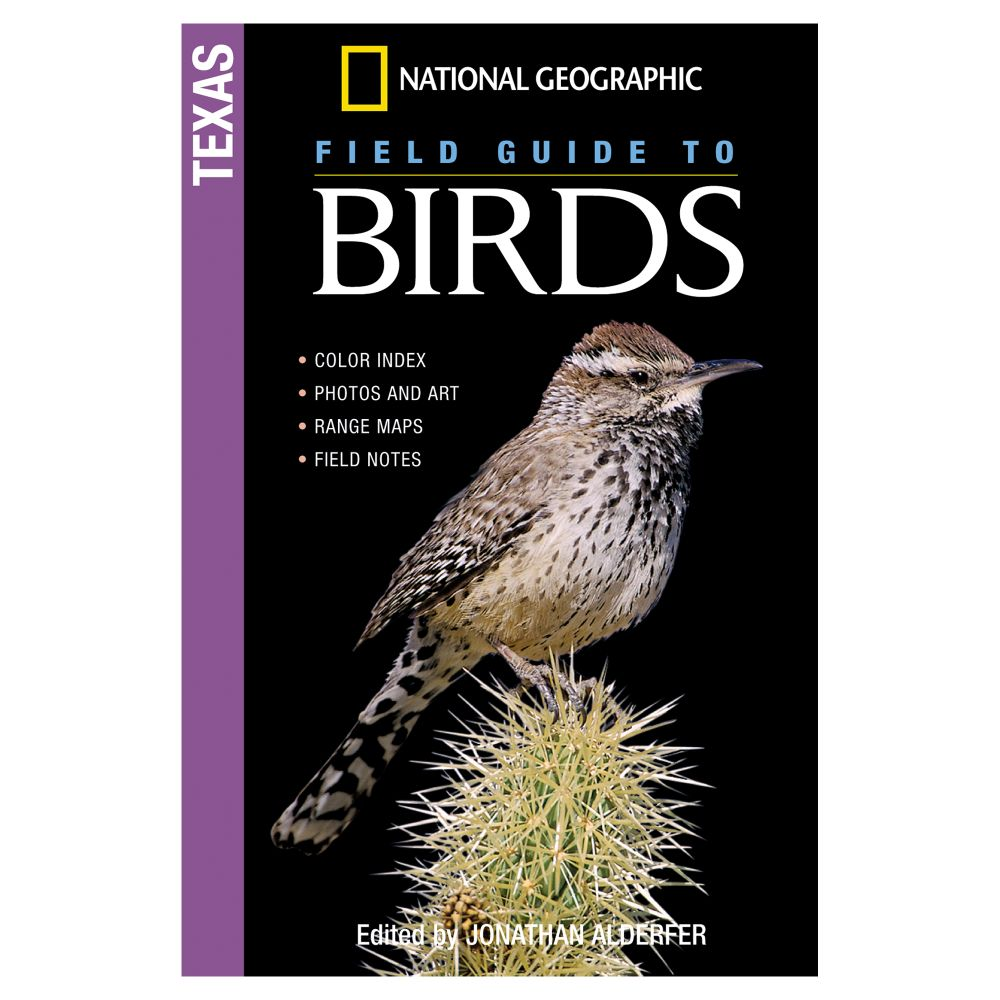 photo: National Geographic Field Guide to Birds: Texas  plant/animal identification guide
