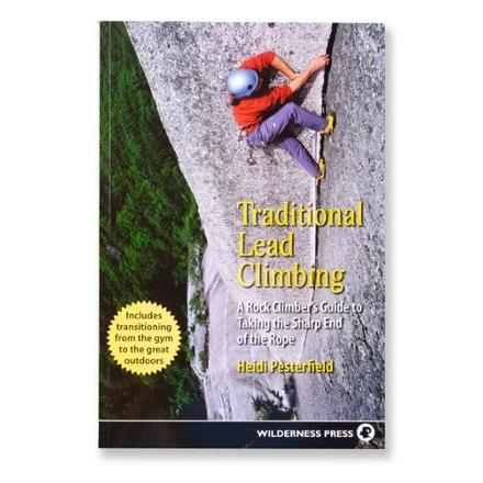 photo: Wilderness Press Traditional Lead Climbing climbing book