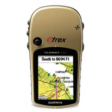 photo: Garmin eTrex Summit HC handheld gps receiver