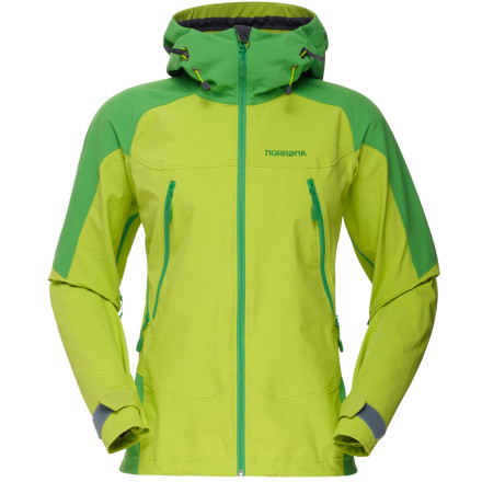 photo: Norrona Women's Falketind Flex1 Jacket soft shell jacket