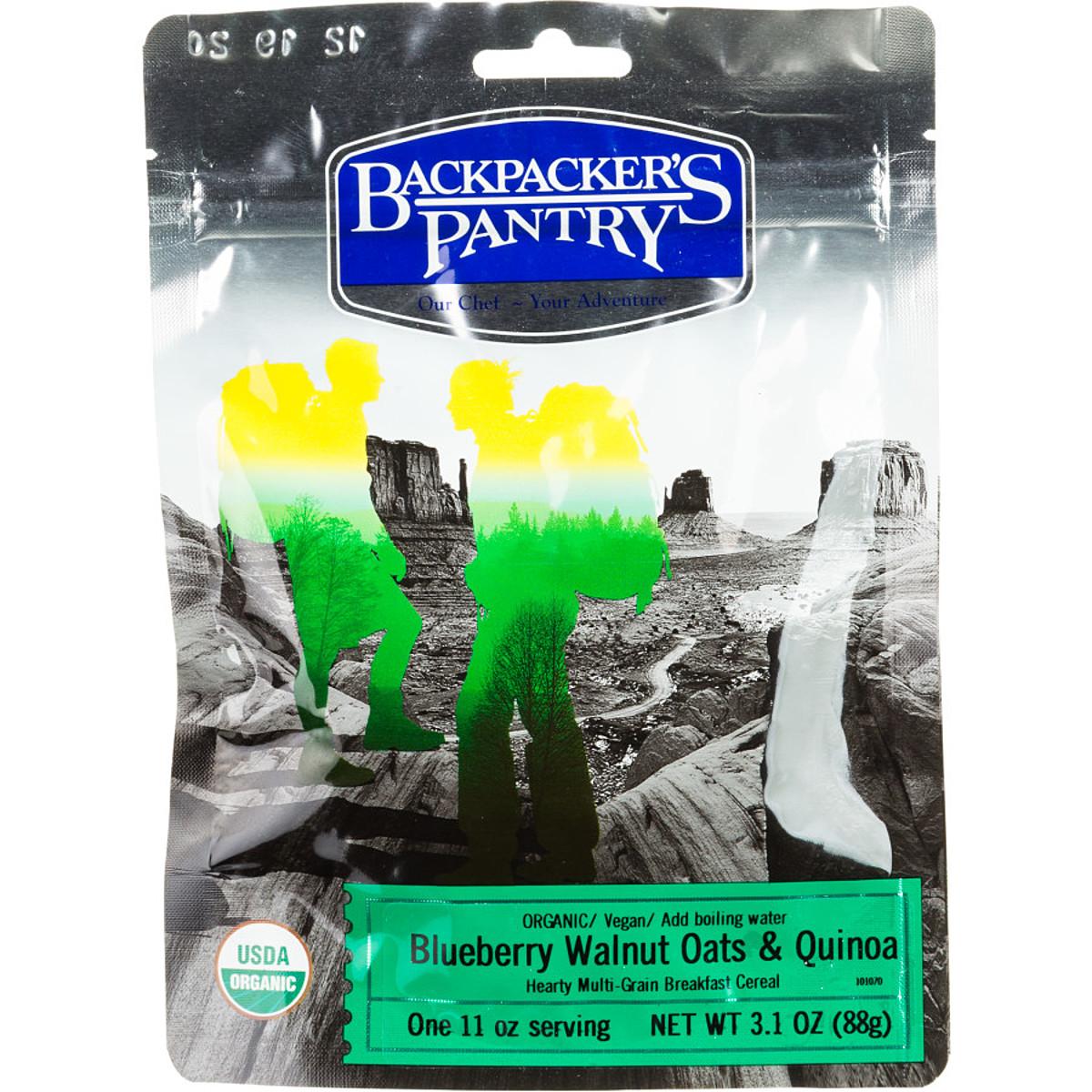 Backpacker's Pantry Organic Blueberry Walnut Oats & Quinoa