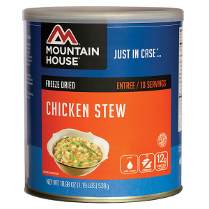 photo: Mountain House Chicken Stew meat entrée