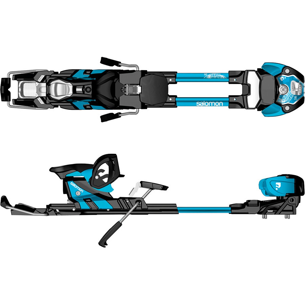 photo: Salomon Guardian 16 AT Binding alpine touring binding