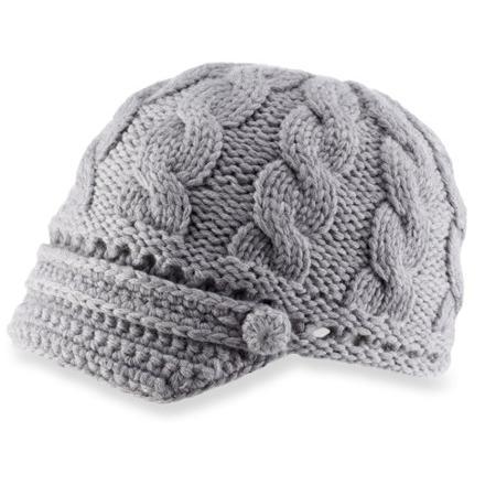 photo: REI Merino Wool Visor Beanie winter hat