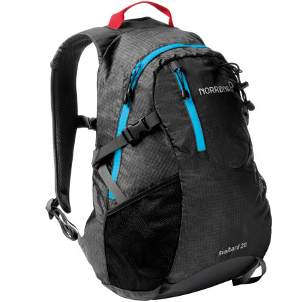 photo: Norrona Svalbard 20L daypack (under 2,000 cu in)