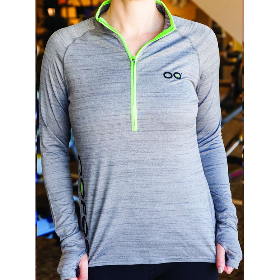 photo: OOFOS Recovery Gear 3/4 Zip long sleeve performance top