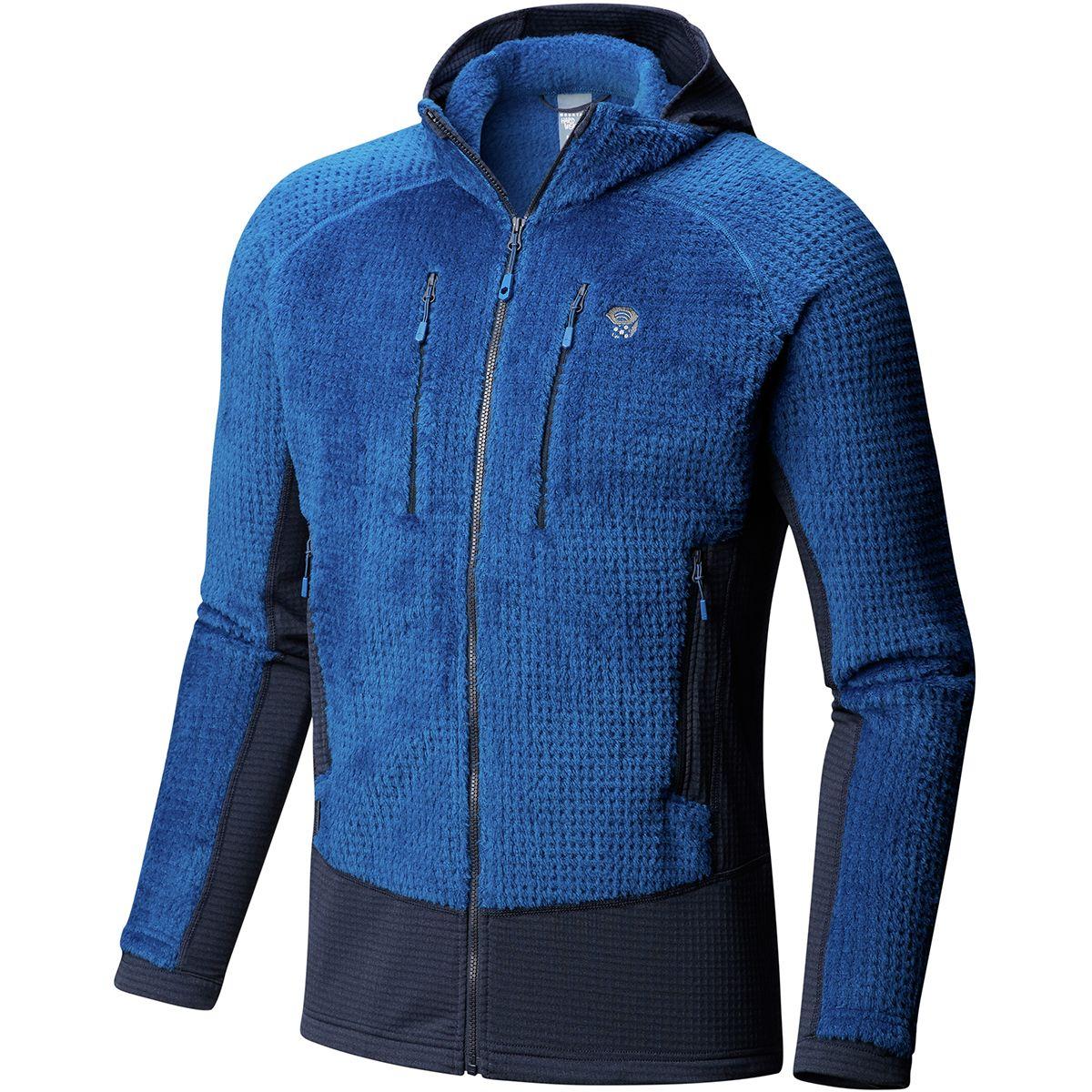 photo: Mountain Hardwear Monkey Man Grid II Hooded Jacket fleece jacket