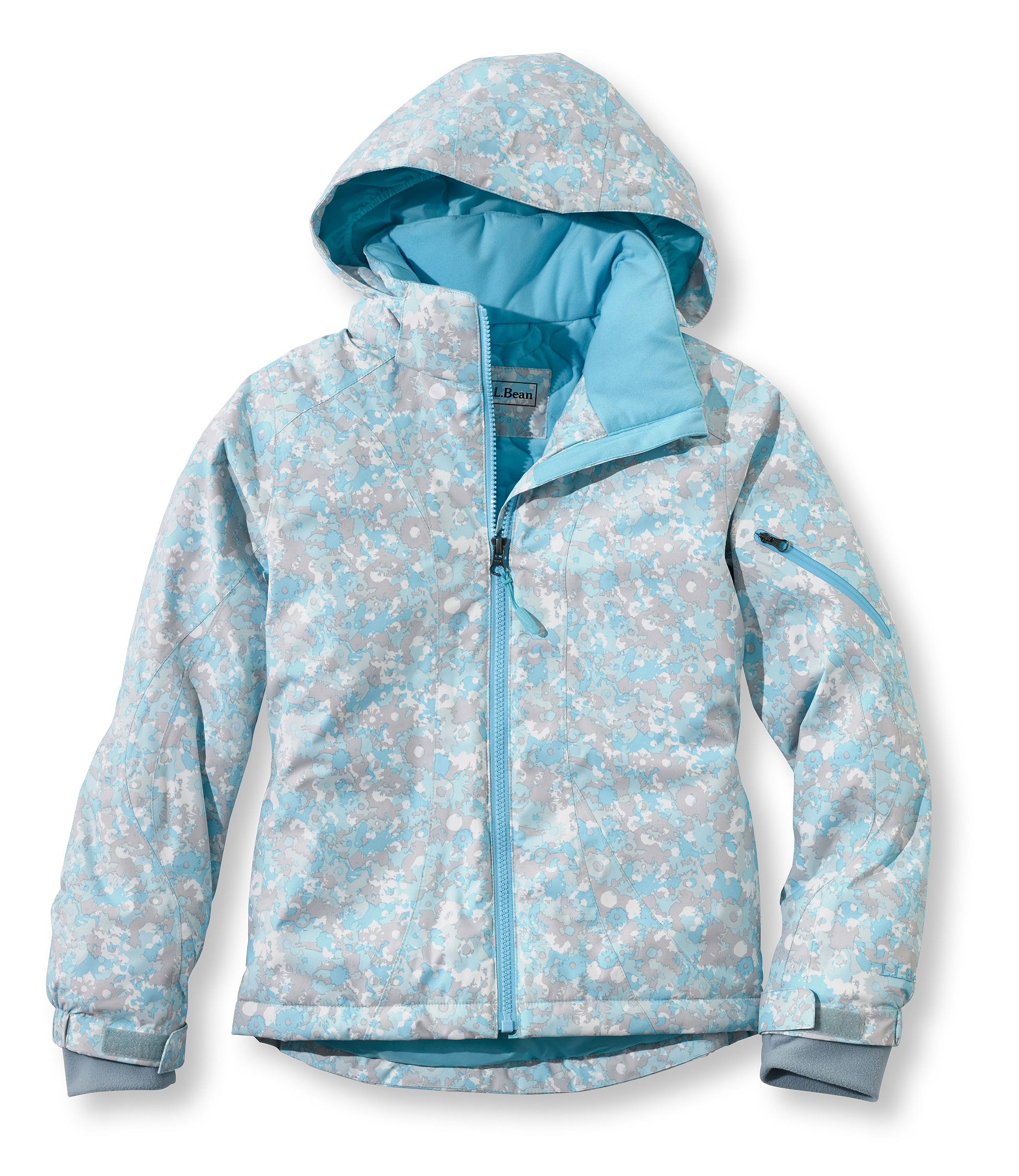 photo: L.L.Bean Girls' Snowfield Waterproof Parka synthetic insulated jacket