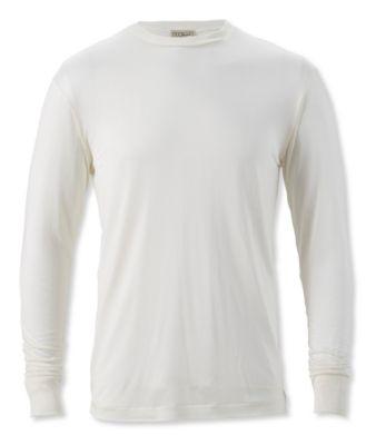 L.L.Bean Silk Underwear, Crewneck