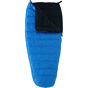 photo: Western Mountaineering Tamarak 3-season down sleeping bag