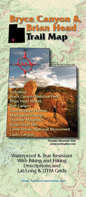 photo of a Adventure Maps map