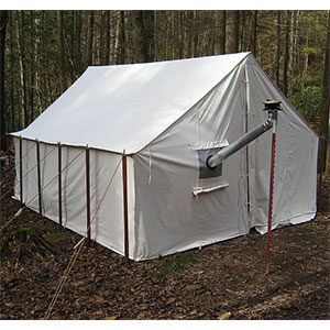 "photo: Tentsmiths 11'3"" x 14' x 8' Wall Tent three-season tent"