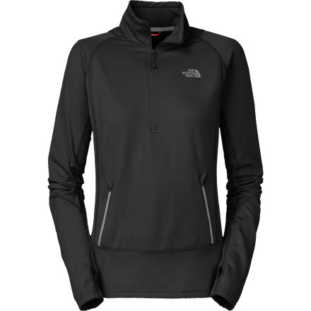 photo: The North Face Bubblecomb 1/2 Zip base layer top