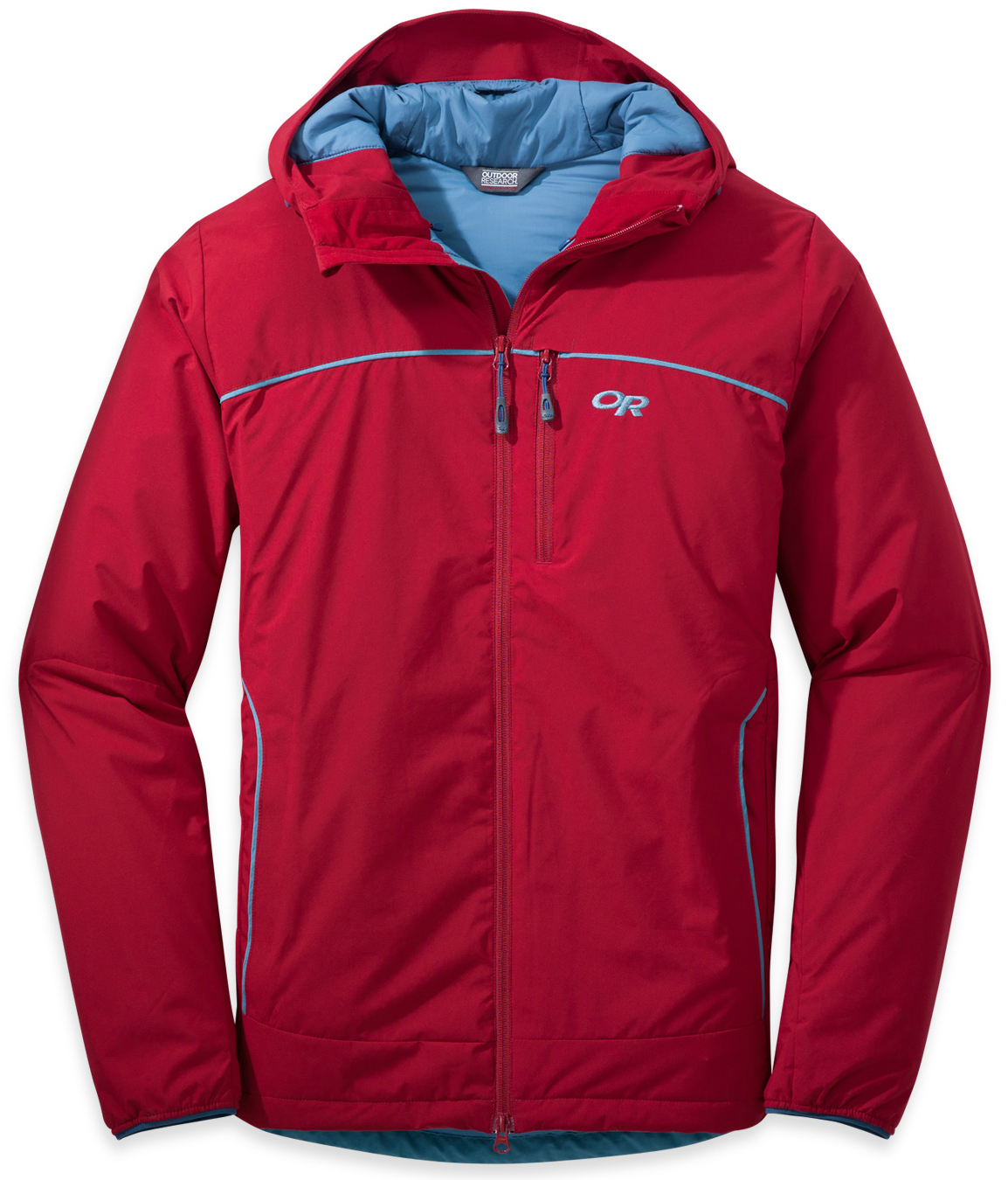photo: Outdoor Research Razoredge Hooded Jacket synthetic insulated jacket