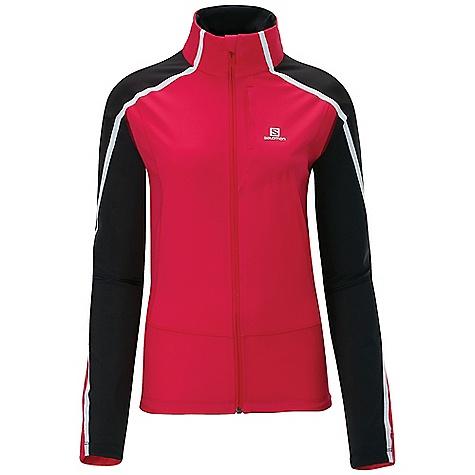 photo: Salomon Women's Dynamics Jacket soft shell jacket