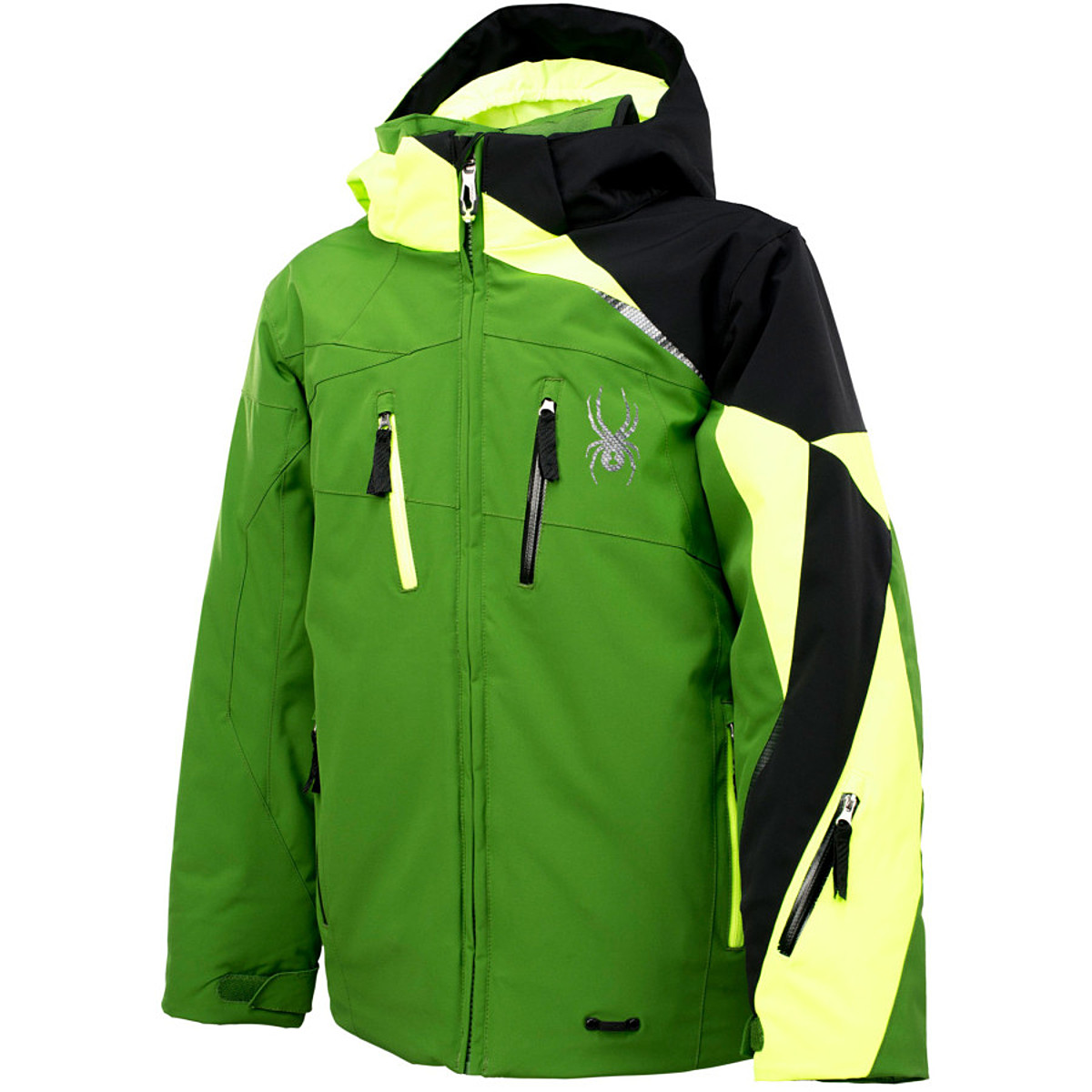 photo: Spyder Boys' Avenger Jacket snowsport jacket
