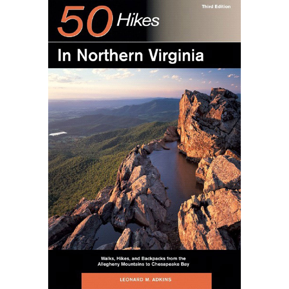 photo: Countryman Press 50 Hikes in Northern Virginia us south guidebook