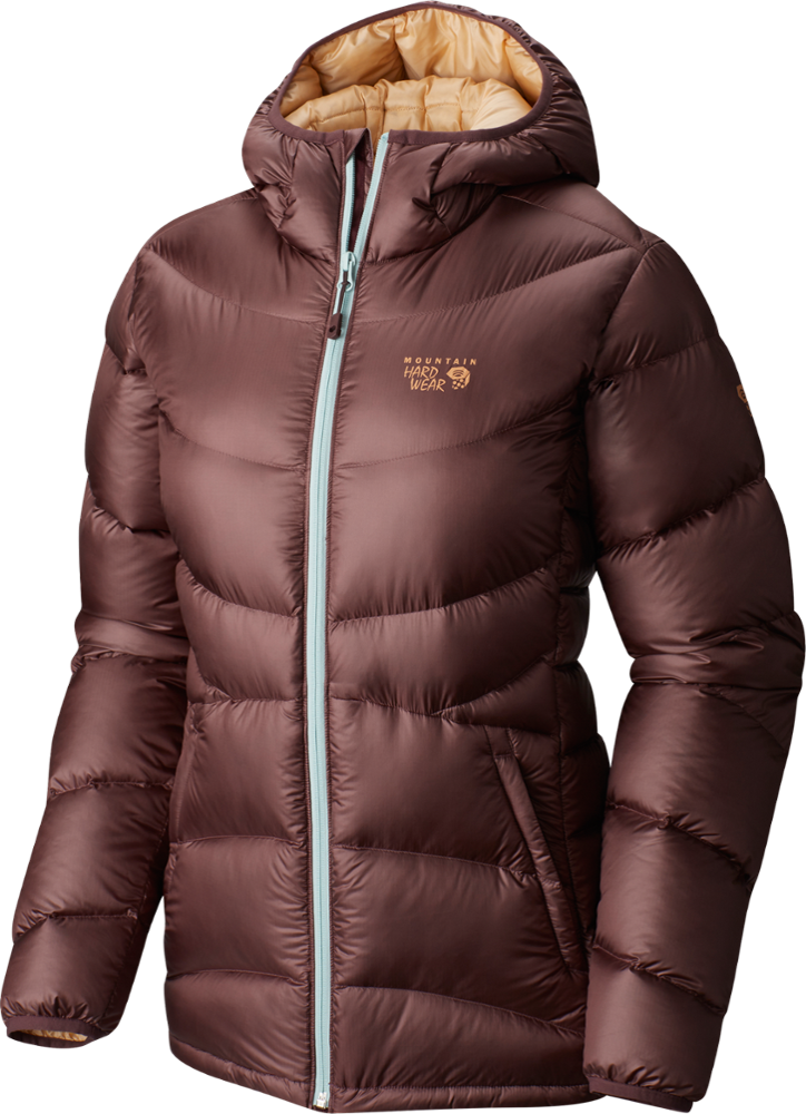photo: Mountain Hardwear Women's Kelvinator Hooded Jacket down insulated jacket