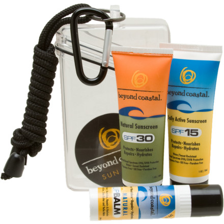 Beyond Coastal Sun Care Kit SPF15 and 30