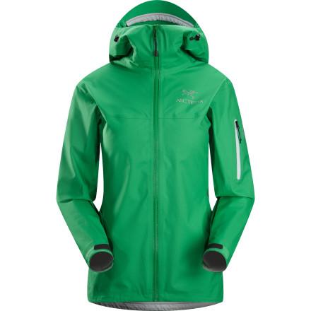 photo: Arc'teryx Women's Tecto FL Jacket waterproof jacket