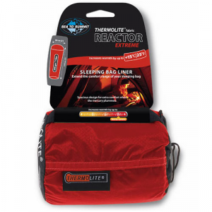 photo: Sea to Summit Reactor Extreme Thermolite Liner sleeping bag liner
