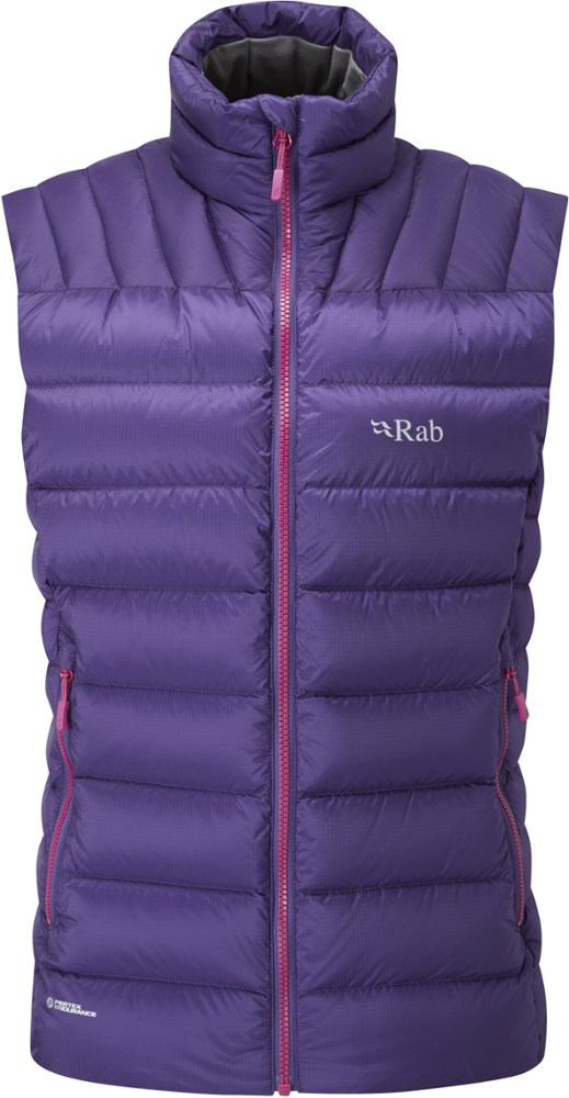 photo: Rab Women's Electron Vest down insulated vest