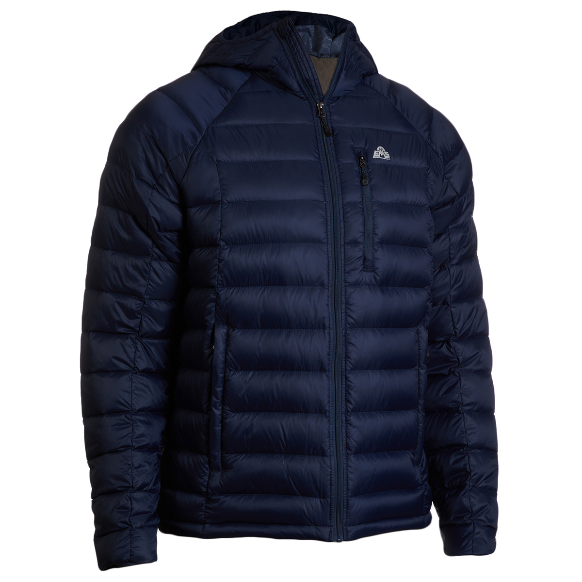 photo: EMS Men's Feather Pack 800 Hooded down insulated jacket
