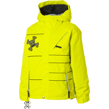 photo: Paul Frank Division Insulated Jacket snowsport jacket