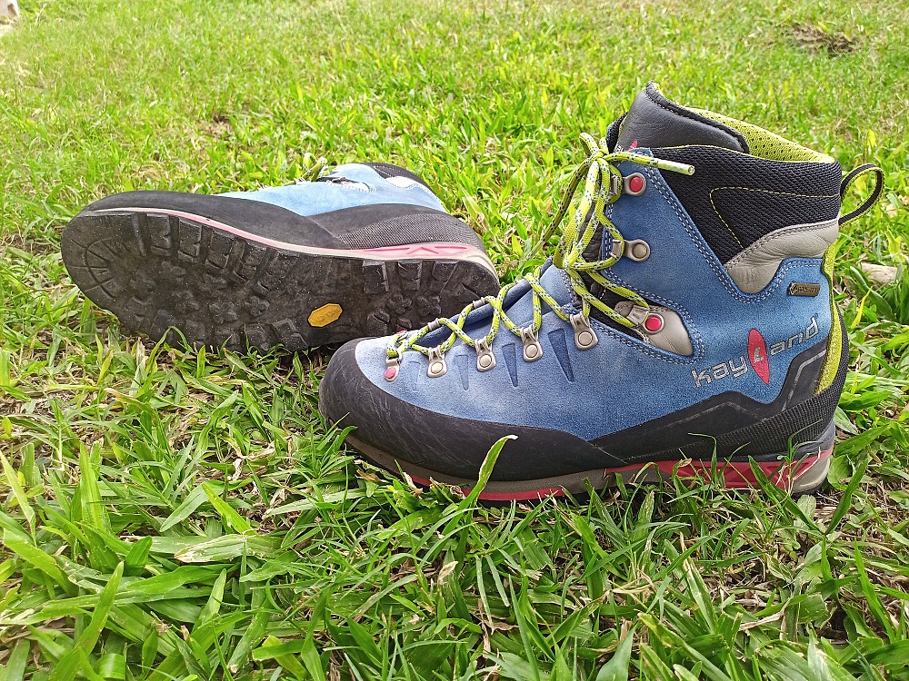 photo: Kayland Super Rock GTX mountaineering boot