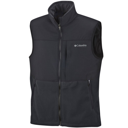 photo: Columbia Ballistic II Windproof Fleece Vest fleece vest
