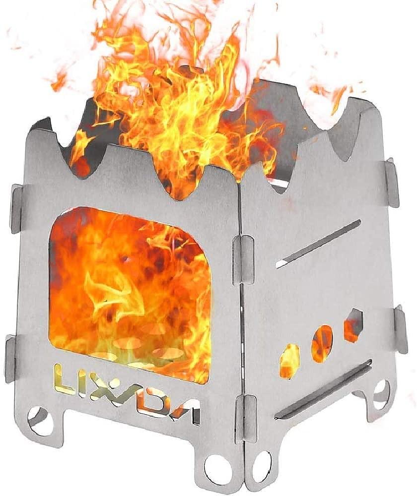 photo: Lixada Titanium Wood Stove wood stove
