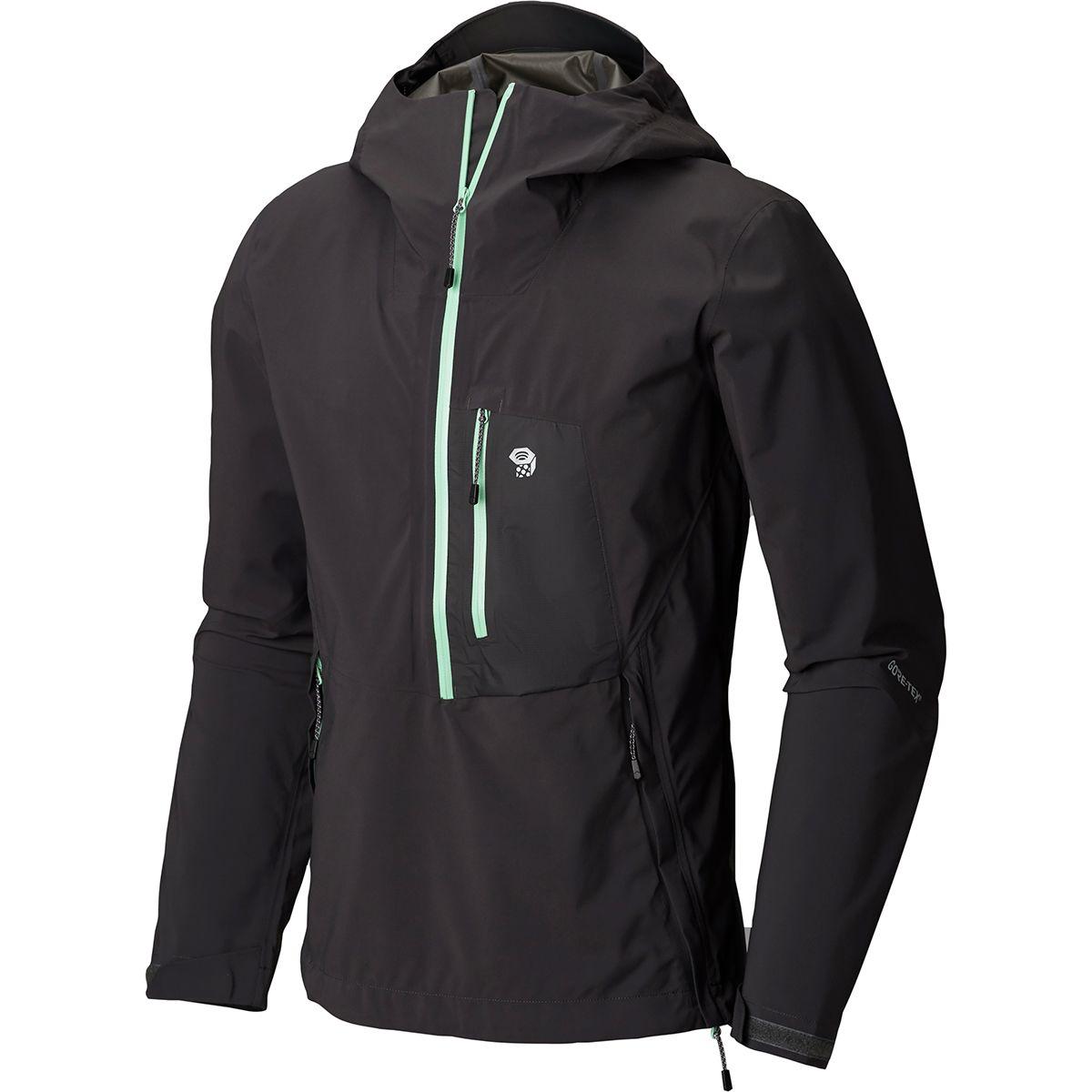 photo: Mountain Hardwear Exposure/2 Gore-Tex Paclite Stretch Anorak waterproof jacket