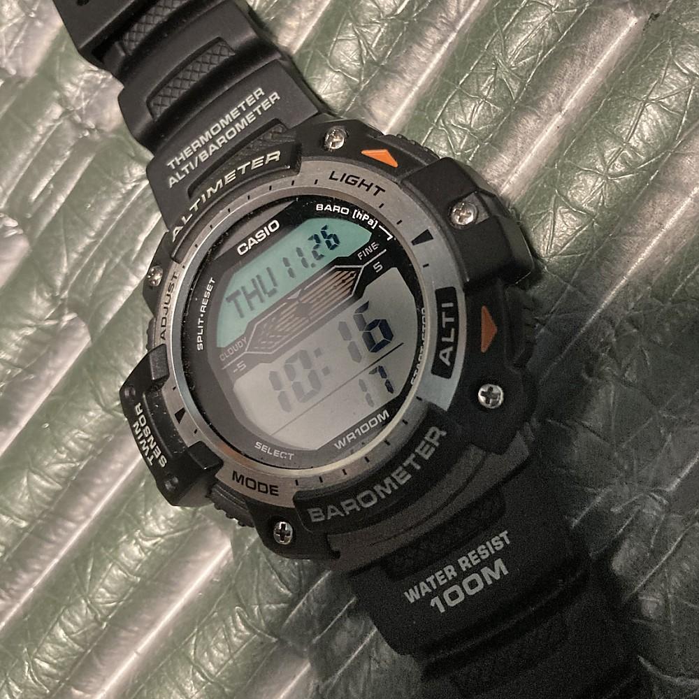 photo: Casio 3202 Twin Sensor Watch altimeter watch