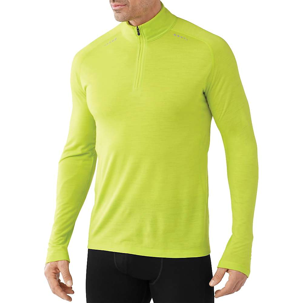 photo: Smartwool PhD Ultra Light Zip T long sleeve performance top
