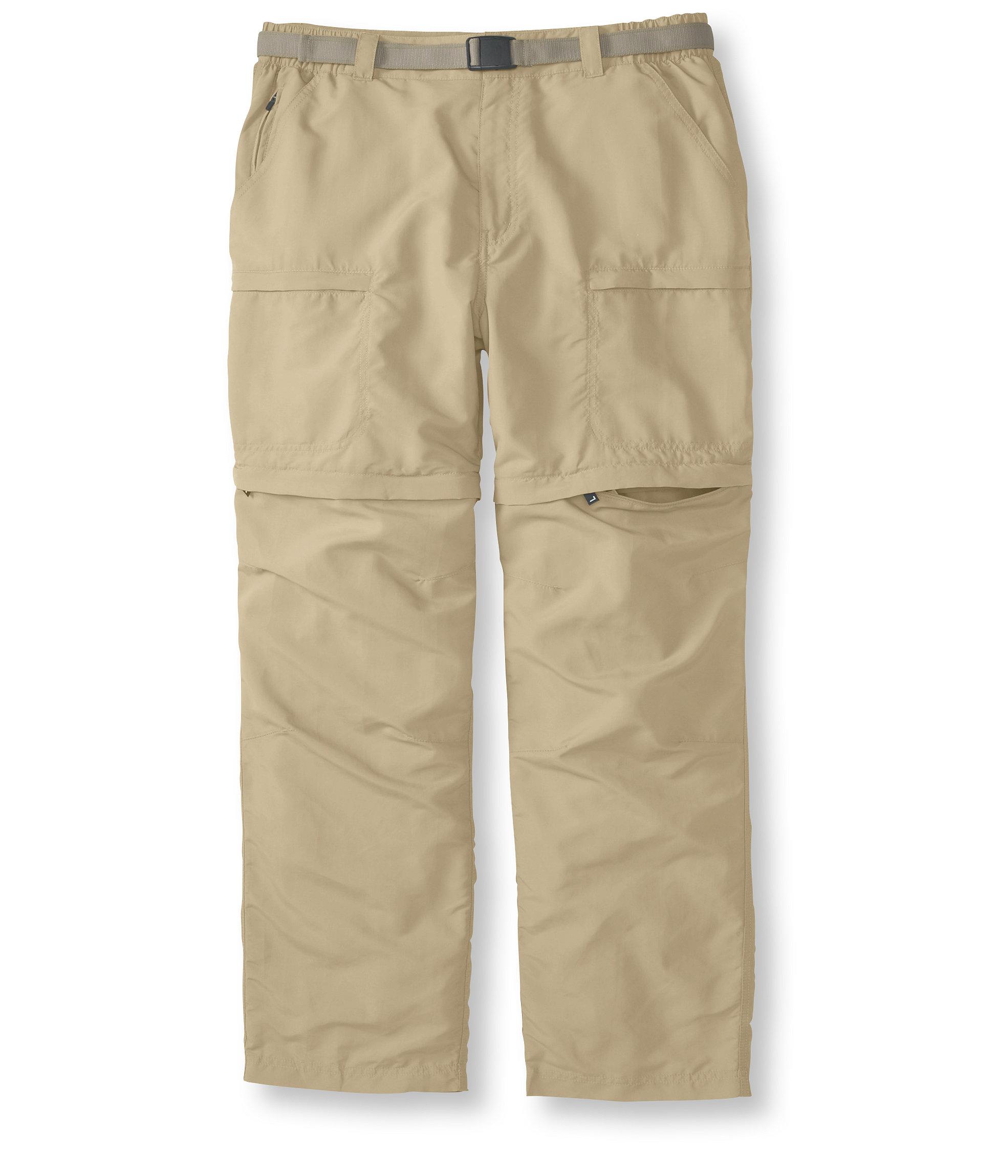 photo: L.L.Bean No Fly Zone Zip-Leg Pants hiking pant