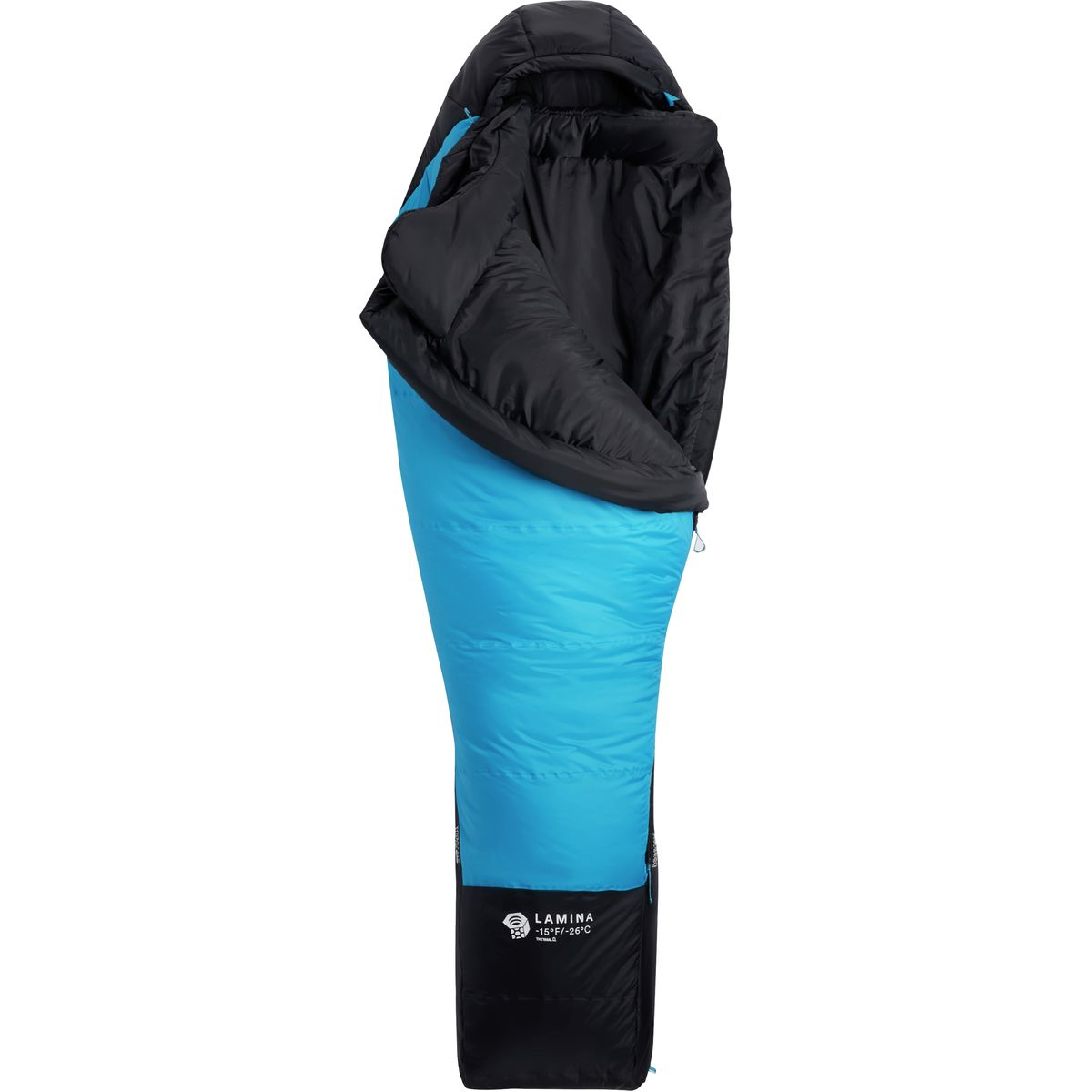 photo: Mountain Hardwear Lamina 15 3-season synthetic sleeping bag